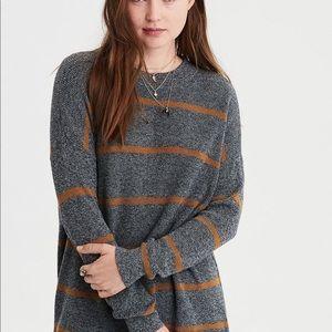 American Eagle Striped Jegging Sweater
